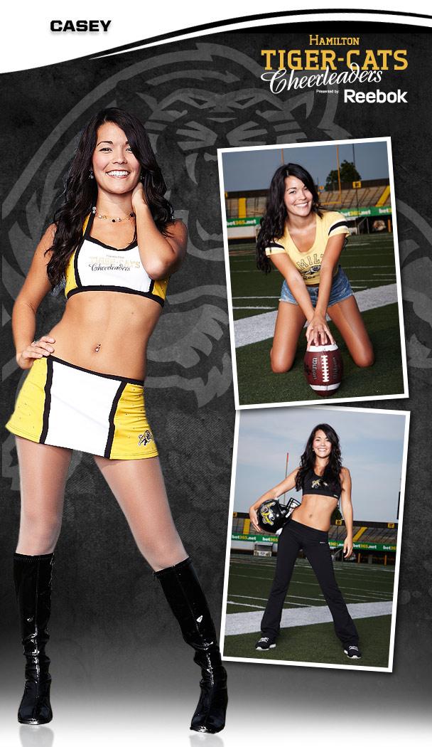 19 Hamilton Tiger-Cats Cheerleader (Casey) - Hottest CFL Cheerleaders