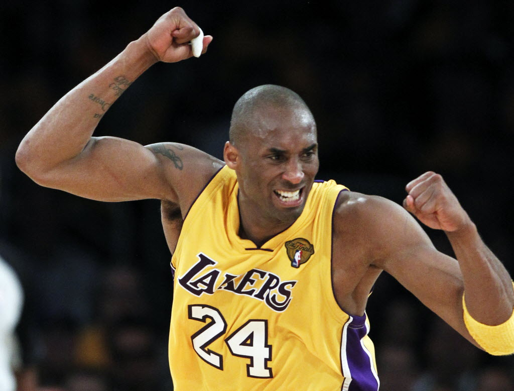 3 Kobe Bryant - best selling NBA jerseys