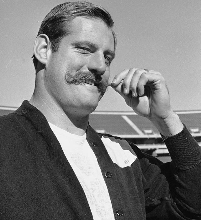 8 Ben Davidson - greatest best sports mustaches
