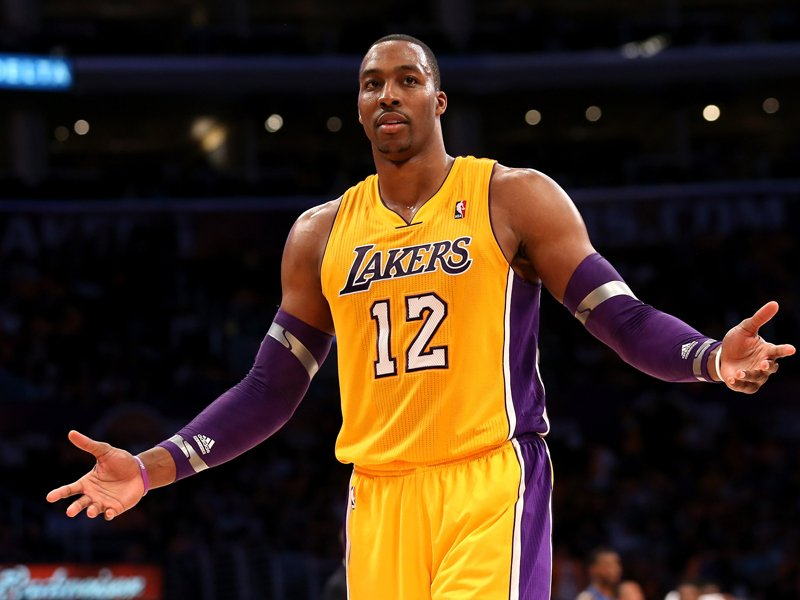 9 Dwight Howard (Lakers) - best selling NBA jerseys