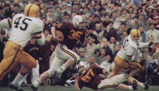 9 minnesota golden gophers 1960 - college football national championship droughts