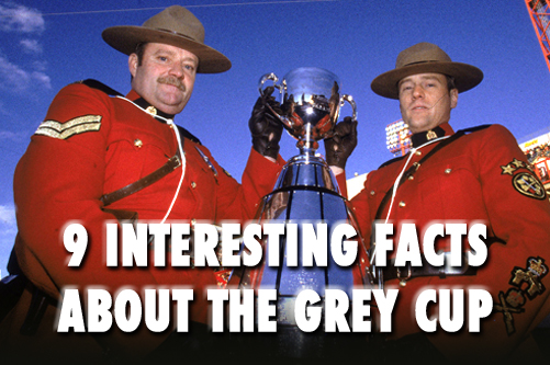 GREY CUP FACTS