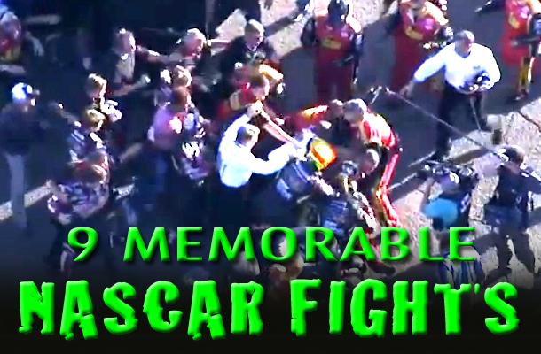 NASCAR fights