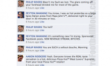 NFL Quarterbacks Conversation On Facebook (Week 11)