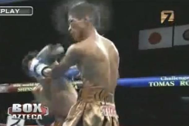 Shinsuke Yamanaka and Tomas Rojas KO