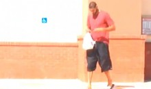 Tim Duncan Gives Lady Stalking Him Outside a CVS Pharmacy the Finger (Video)