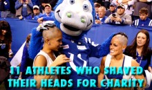 11 Athletes Who Shaved Their Heads for Charity