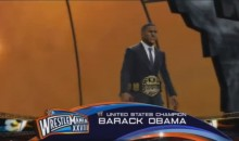 Ever Wonder What a WWE Ladder Match Between Mitt Romney and Barack Obama Would Look Like? (Video)
