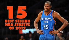 15 Best Selling NBA Jerseys of 2012