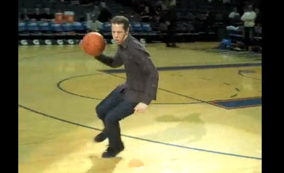 brad keselowski sucks at basketball