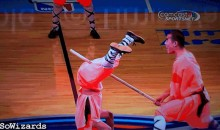 Charlotte Bobcats Provide a Nut-Cracking Halftime Show (GIF)