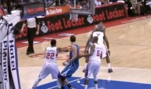 The Clippers' Matt Barnes Was Throwing Elbows Last Night (Video)
