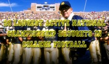 20 Longest Active Championship Droughts in College Football