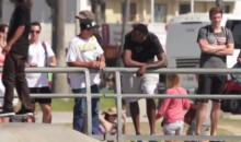 Clippers' DeAndre Jordan Was Prank Farting All Over Venice Beach (Video)