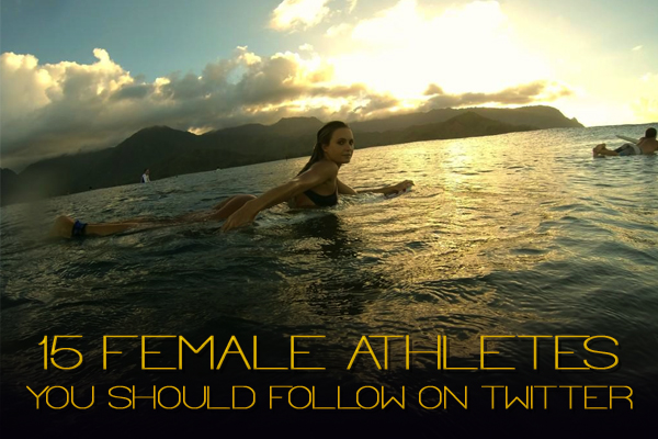 female athletes you should follow on twitter
