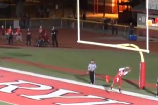 field goal kick returned for touchdown