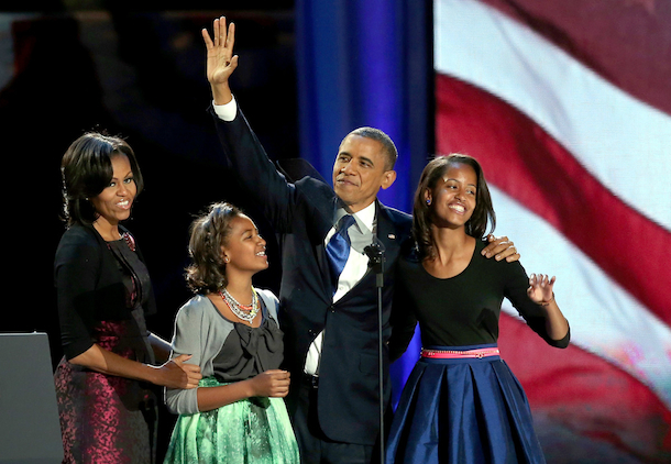 first-family-barack-obama-re-elected