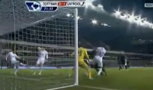 Spurs' Aaron Lennon Scores Own Goal Off Teammate Gareth Bale's Face (Video)