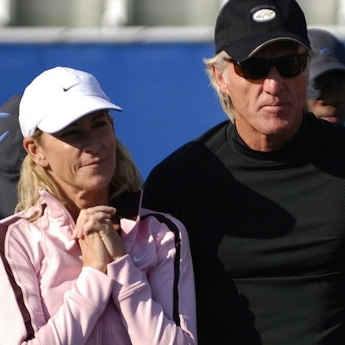 greg norman and chris evert - sports divorces
