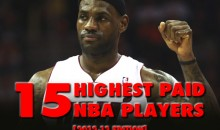 The 15 Highest Paid NBA Players (2012-13 Edition)