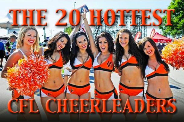 hottest cfl cheerleaders