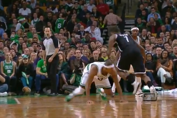 joe johnson ankle breaker on paul pierce
