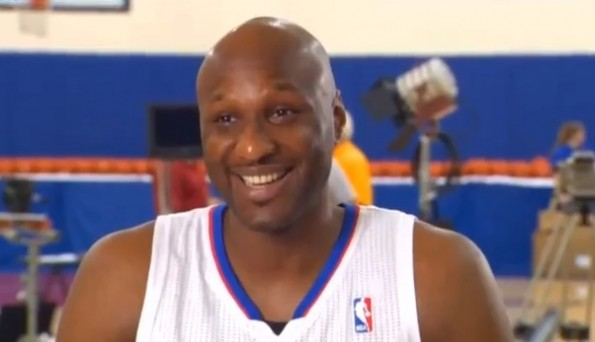 lamar odom lakers clippers
