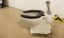 Ontario Lawyer Buys Toilet from Maple Leaf Gardens for $5,300 (Pics)