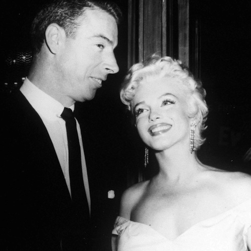 marilyn monroe and joe dimaggio - sports divorces