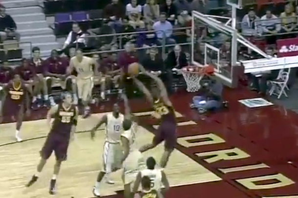 minnesota rodney williams awesome putback dunk
