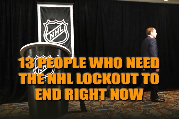 effect of nhl lockout
