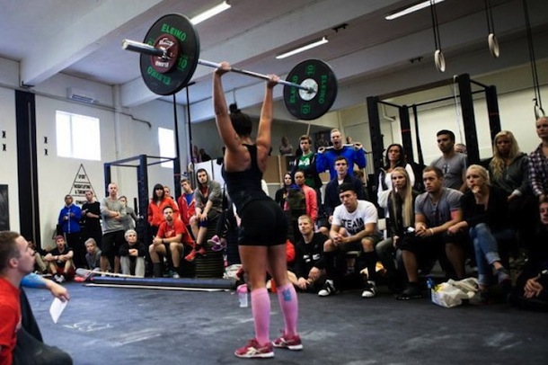 norwegian high school crossfit girl