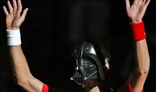Novak Djokovic Dressed As Darth Vader At The Paris Masters (Video)