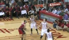 Rockets' Omer Asik Scored On His Own Basket Last Night (Video)
