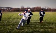 One-Handed Beer Football Actually Exists! (Video)