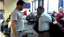 Racist Texas A&M Fan Starts Fight at New Orleans Airport, Gets Arrested (Video)
