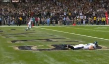 Eagles' Riley Cooper Was Hiding In The End Zone During This Kickoff Trick Play (GIFs)