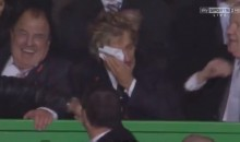 Rod Stewart Cried After Celtic's Champions League Victory Over Barcelona (Videos)
