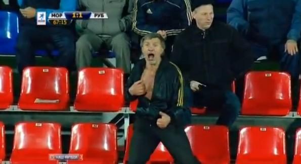 russia soccer fan