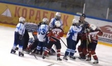Russian Youth Hockey Game Called Off After Multiple Line Brawls (Video)