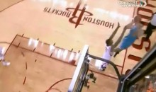 Ryan Anderson Sunk an Impressive Shot from Behind the Basket Last Night (Video)