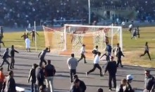 Tajikistanian Soccer Players Brawl, Then Fans Invade and Chase Opposing Team Off the Field (Video)