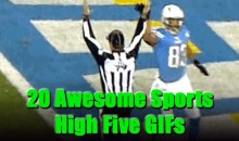 20 Awesome Sports High Five GIFs