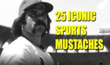 25 Iconic Sports Mustaches