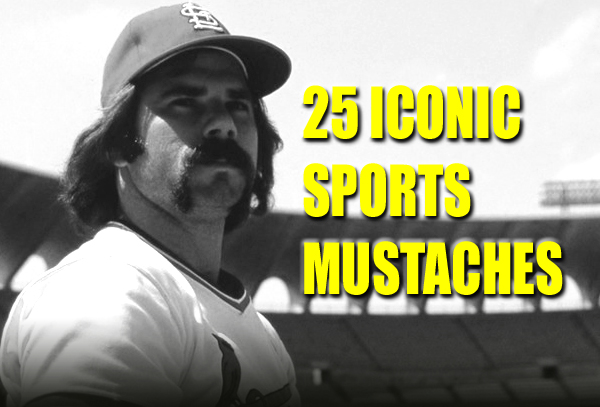 sports moustaches