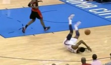 Let's All Watch Hasheem Thabeet Trip Over His Own Feet (Video)
