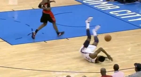 let u0026 39 s all watch hasheem thabeet trip over his own feet
