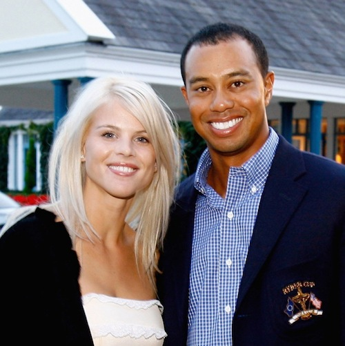tiger woods and elin nordegren - sports divorces
