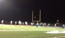 Check Out This Crazy Trick Play From A High School Football Game That Could Only Happen In Canada (Video)