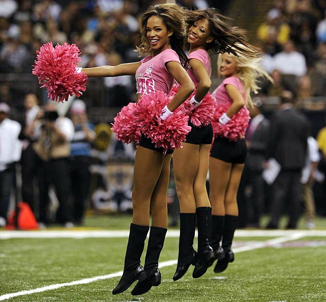 11 Jasmine New Orleans Saints Cheerleader (Hottest NFL Cheerleaders of 2012)